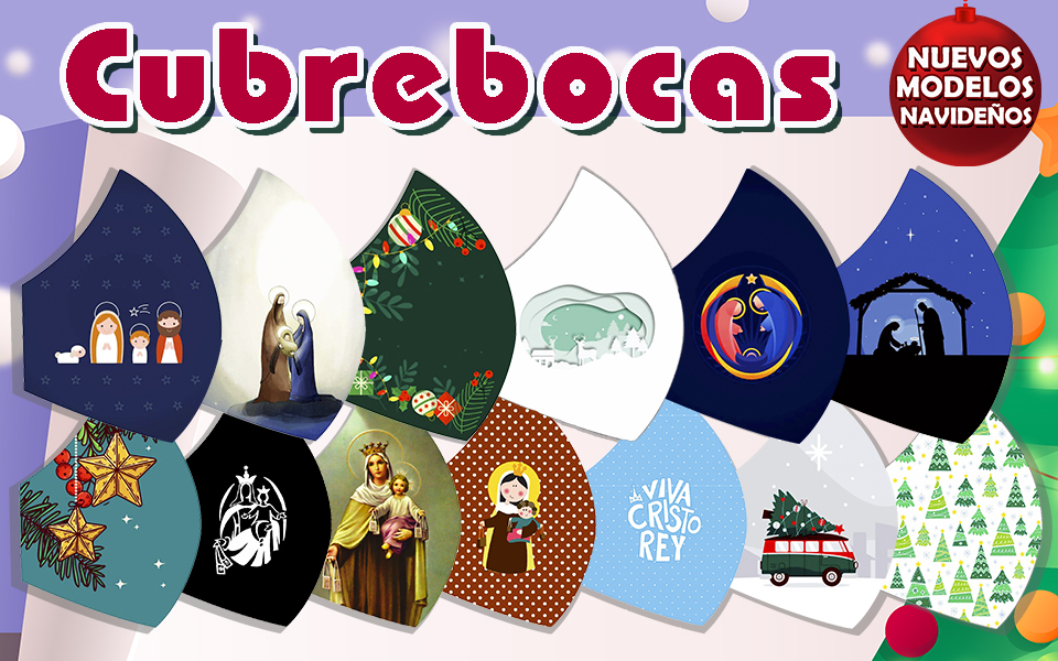 Cubrebocas – Navideños