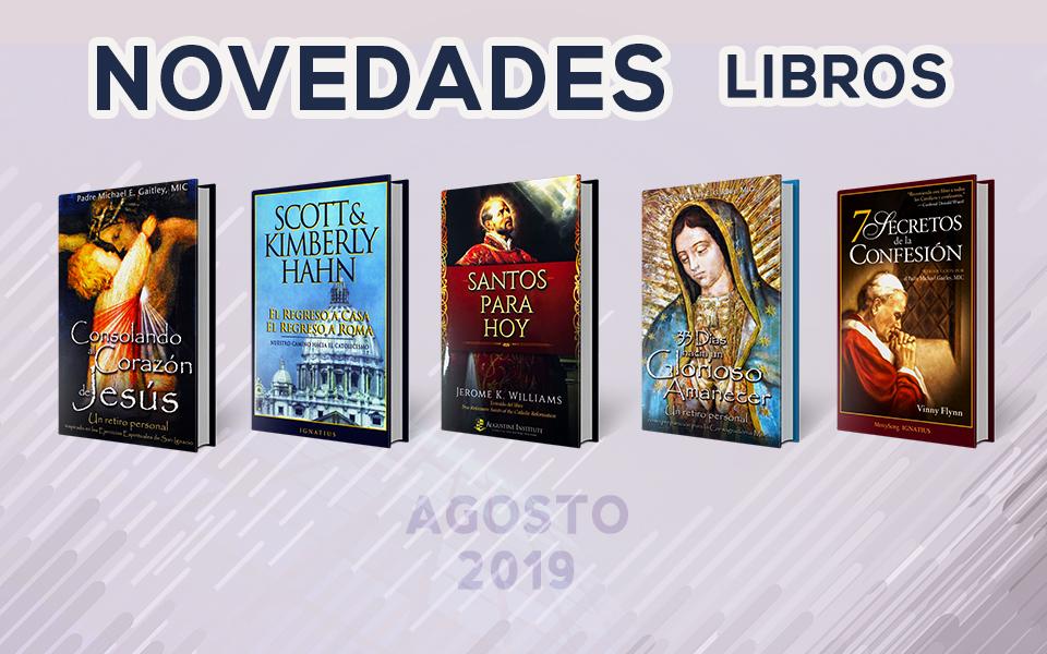 Novedades Libros – Agosto 2019