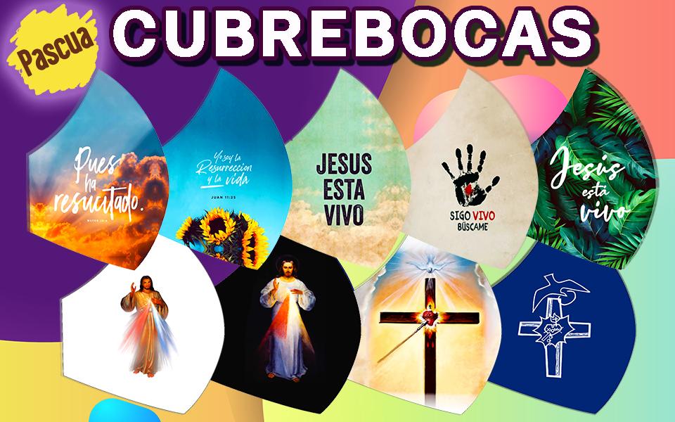Cubrebocas Pascua