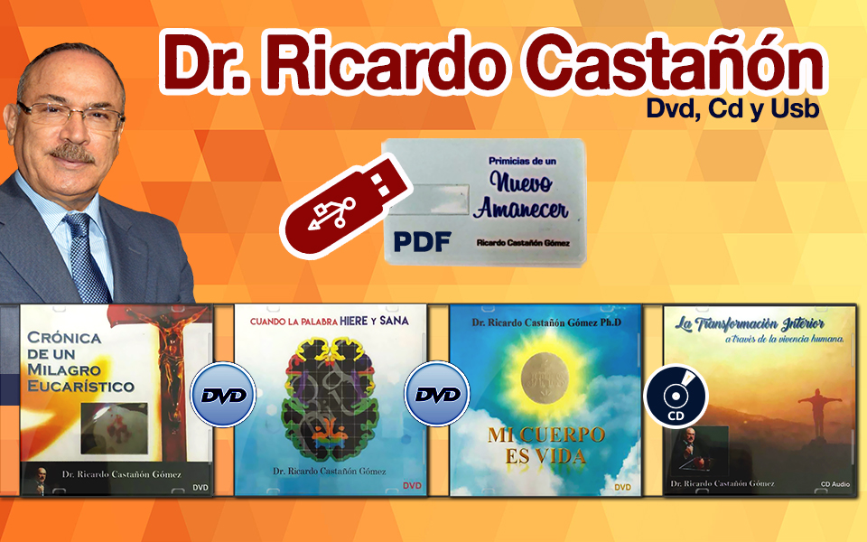 Ricardo Castañón – Dvd, Cd y Usb